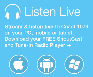 Download Audio Player to Listen Live to Coast 1079